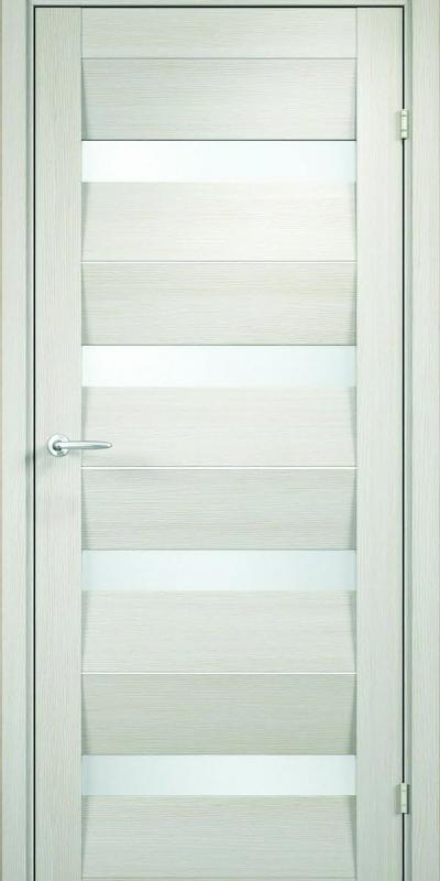 klaasiga PVC-kattega siseuks tamm bianco