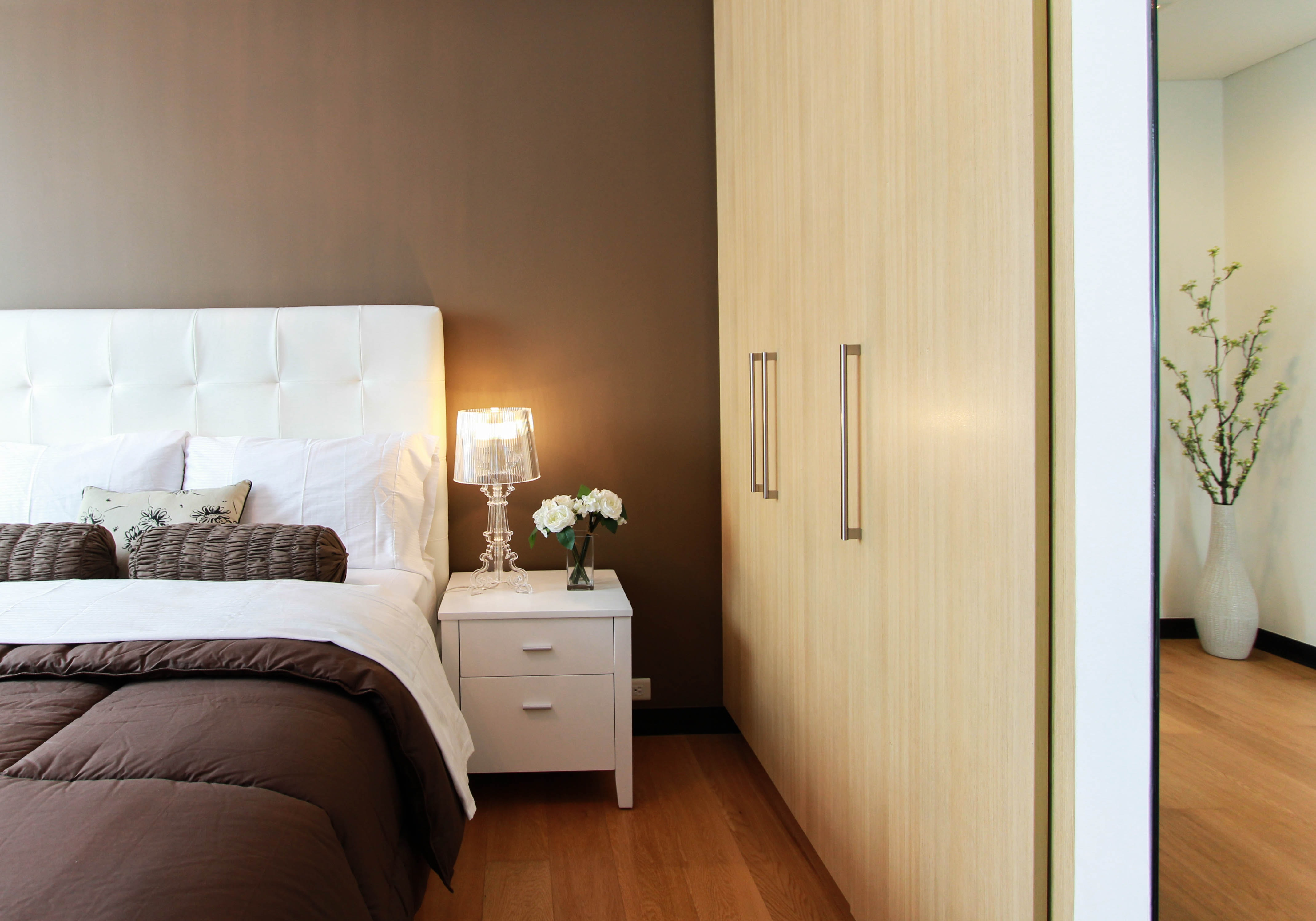 magamistuba garderoobiga