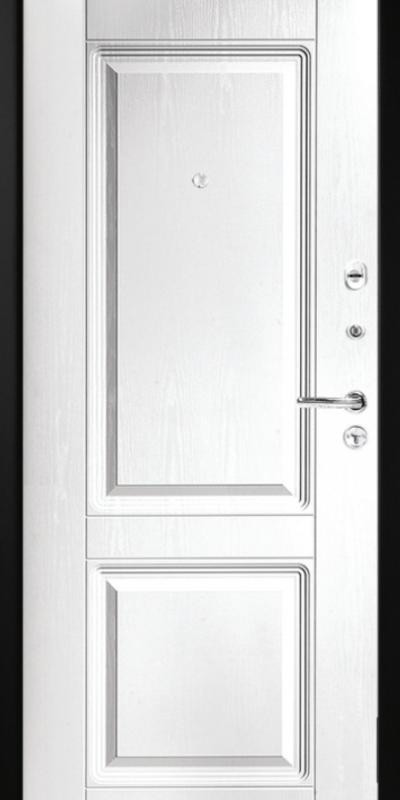 metallist turvauks Buldoors Lux 380 sisevaade valge
